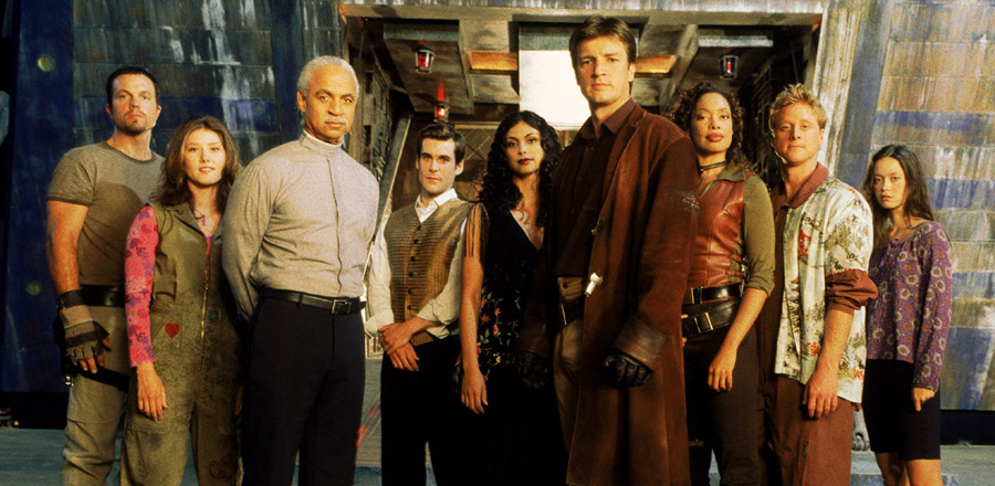 Firefly is, hands-down, the best scifi show ever
